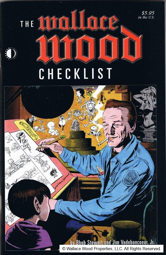 The Wallace Wood Checklist  • USA