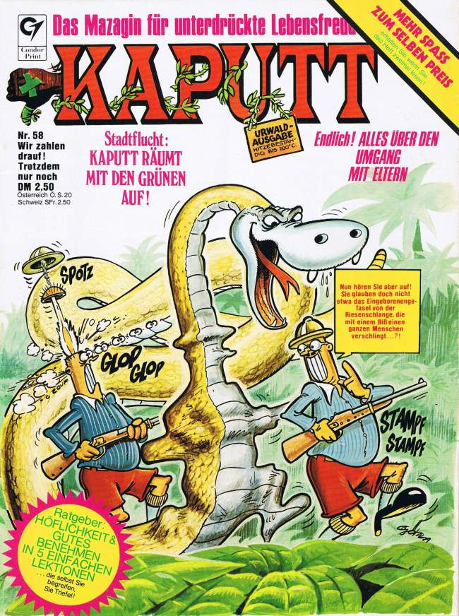 Kaputt #58 • Germany