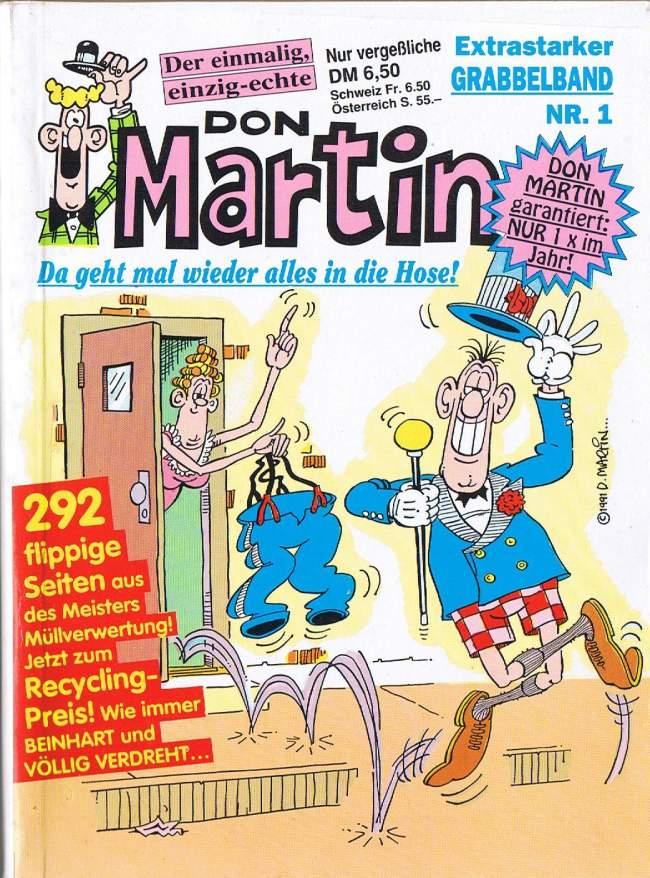 Don Martin - Extrastarker Grabbelband #1 • Germany