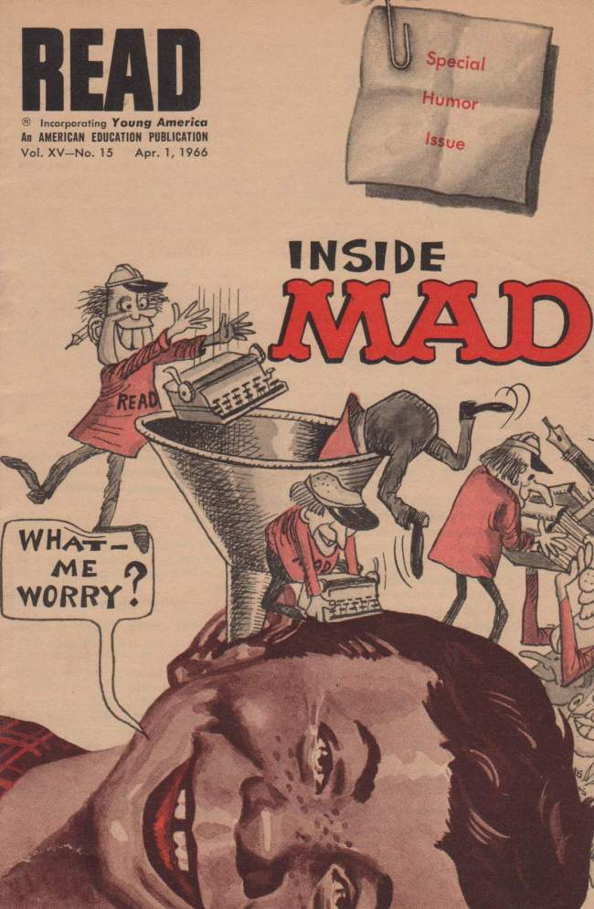 Read - Inside MAD #15 • USA