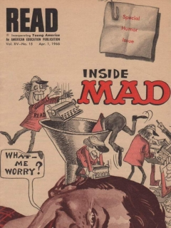 Go to Read - Inside MAD #15