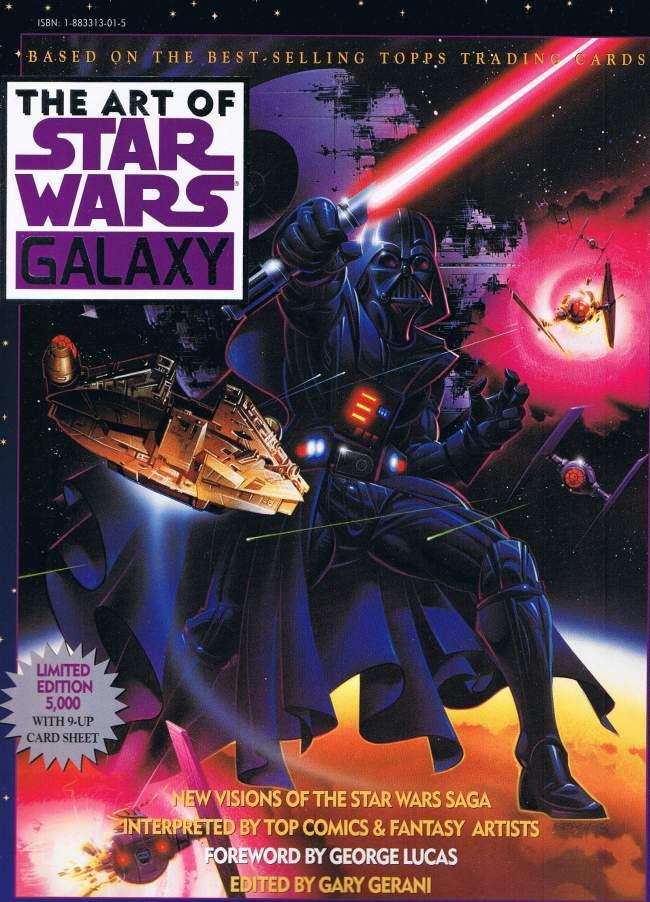 The Art of Star Wars Galaxy #1 • USA