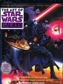 Go to The Art of Star Wars Galaxy #1 • USA