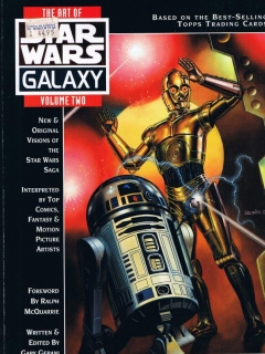 Go to The Art of Star Wars Galaxy #2 • USA