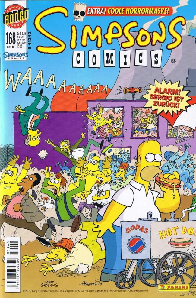 Simpsons Comics #168 • Germany