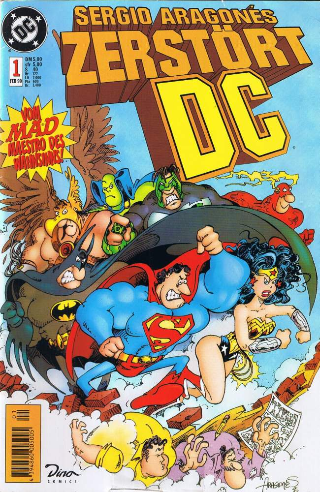 Sergio Aragones zerstört DC #1 • Germany