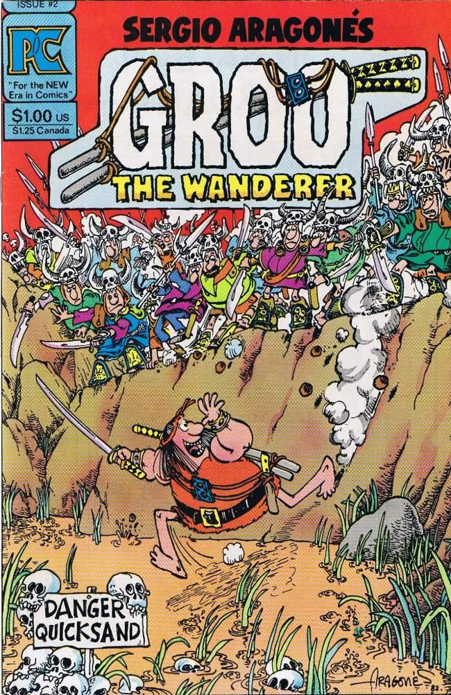 Groo - The Wanderer (Pacific) #2 • USA