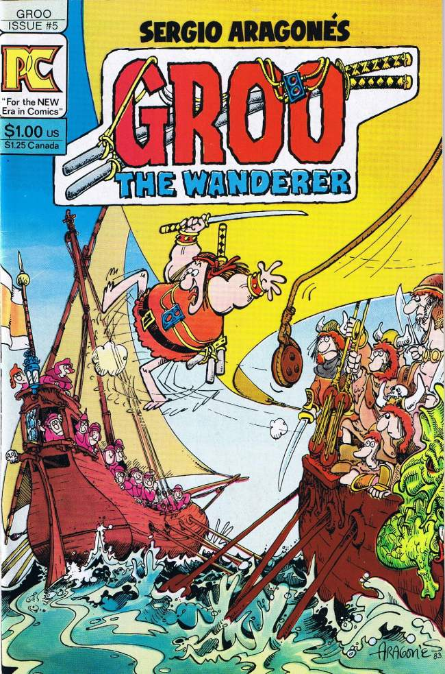 Groo - The Wanderer #5 • USA