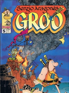 Go to Groo - The Wanderer #5 • USA