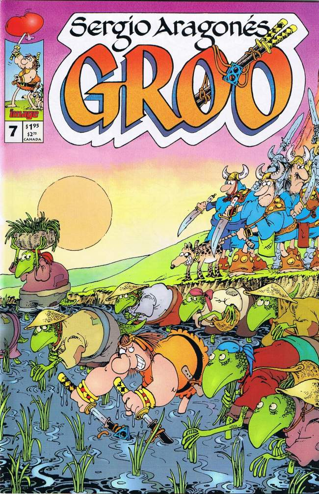 Groo - The Wanderer #7 • USA