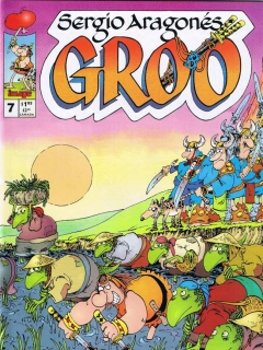 Go to Groo - The Wanderer #7 • USA