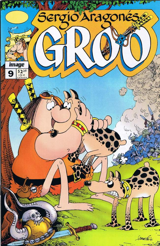 Groo - The Wanderer (Image) #9 • USA
