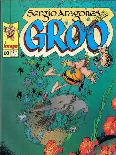 Go to Groo - The Wanderer #10 • USA