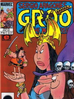 Groo - The Wanderer #26 • USA