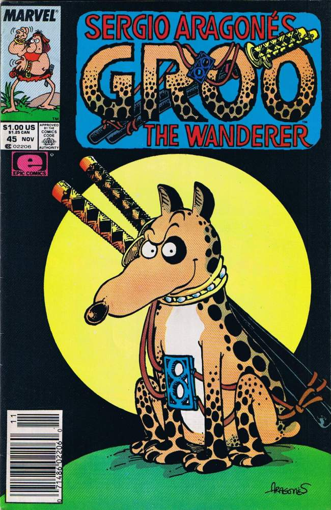 Groo - The Wanderer (Marvel) #45 • USA