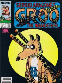 Groo - The Wanderer #45 • USA