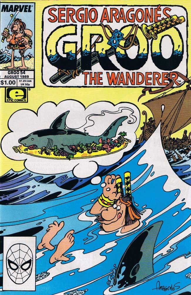 Groo - The Wanderer #54 • USA