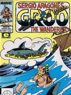 Groo - The Wanderer #54 • USA