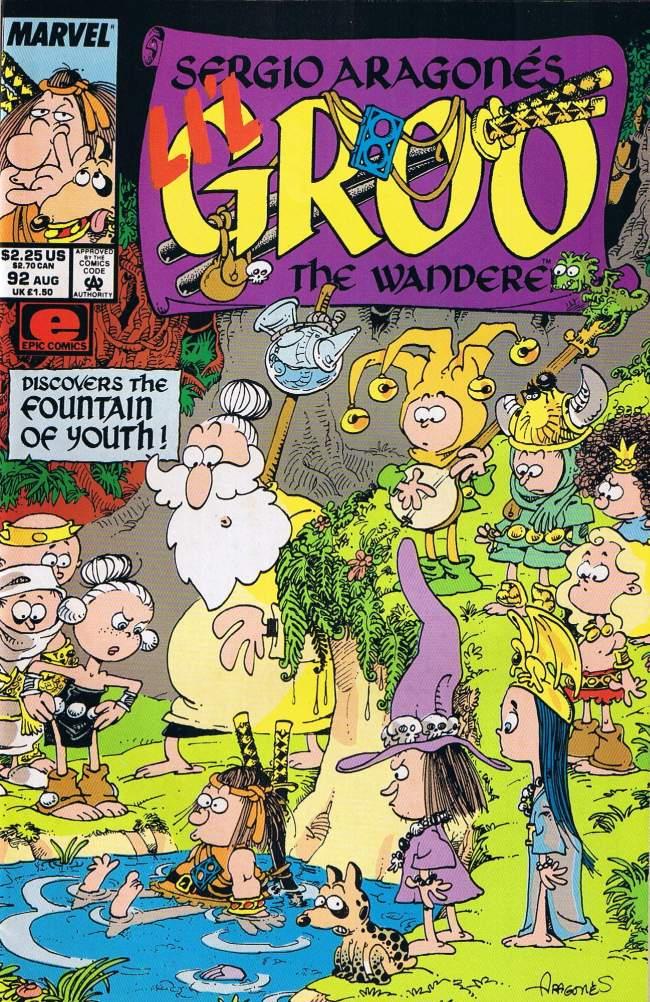 Groo - The Wanderer #92 • USA