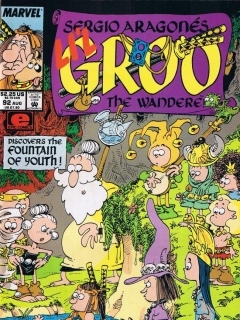 Go to Groo - The Wanderer #92