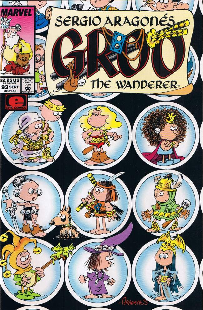 Groo - The Wanderer (Marvel) #93 • USA