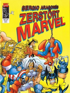 Go to Sergio Aragones zerstört Marvel • Germany