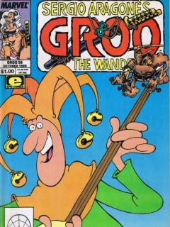 Go to Groo - The Wanderer #56 • USA