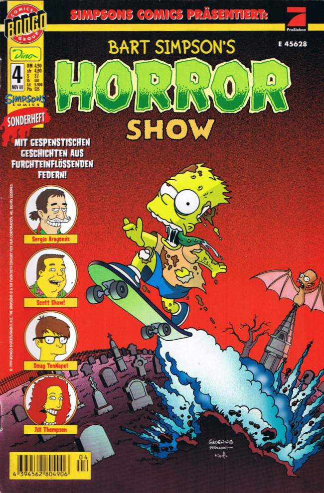 Bart Simpsons Horror Show #4 • Germany