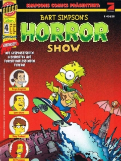 Go to Bart Simpsons Horror Show #4 • Germany