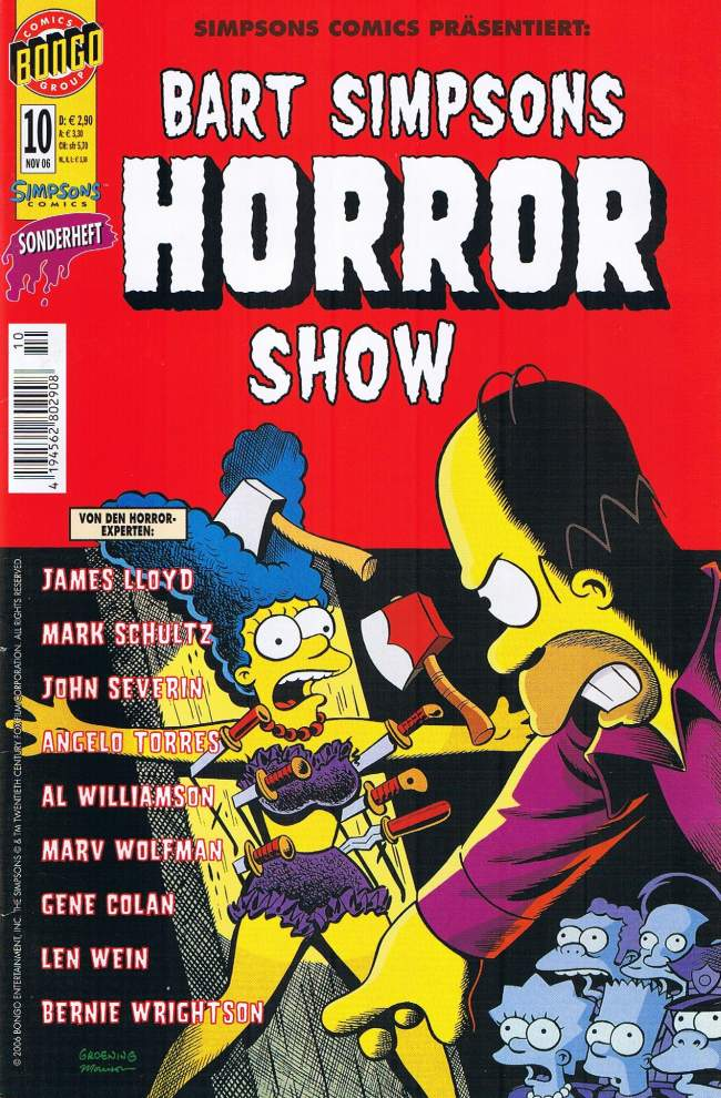 Bart Simpsons Horror Show #10 • Germany