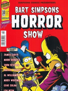 Go to Bart Simpsons Horror Show #10