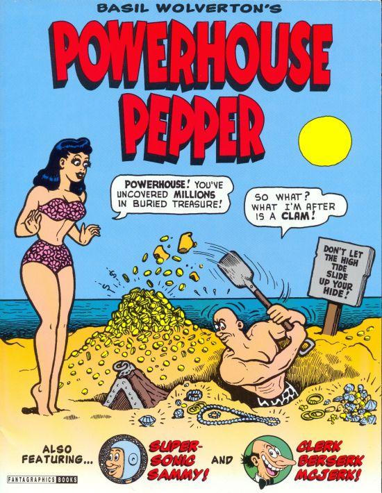 Basil Wolverton's Powerhouse Pepper • USA