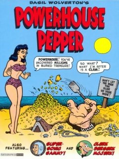 Basil Wolverton's Powerhouse Pepper • USA