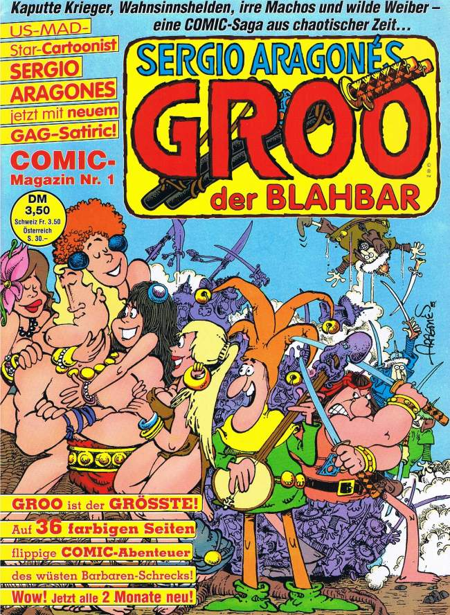 Groo der Blahbar #1 • Germany