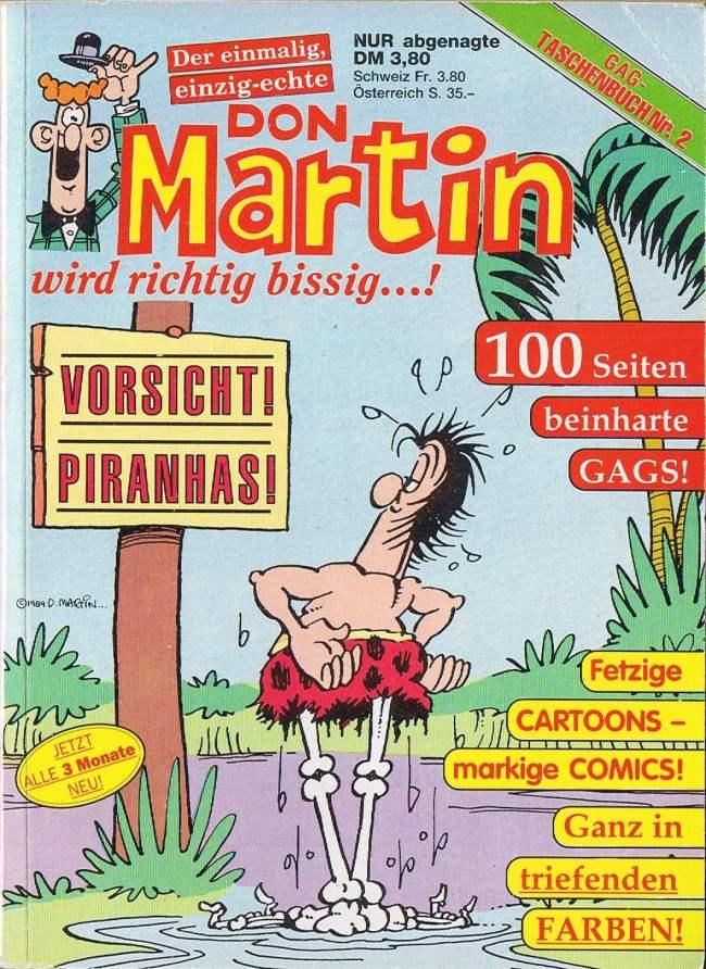 Don Martin Gag Taschenbuch #2 • Germany