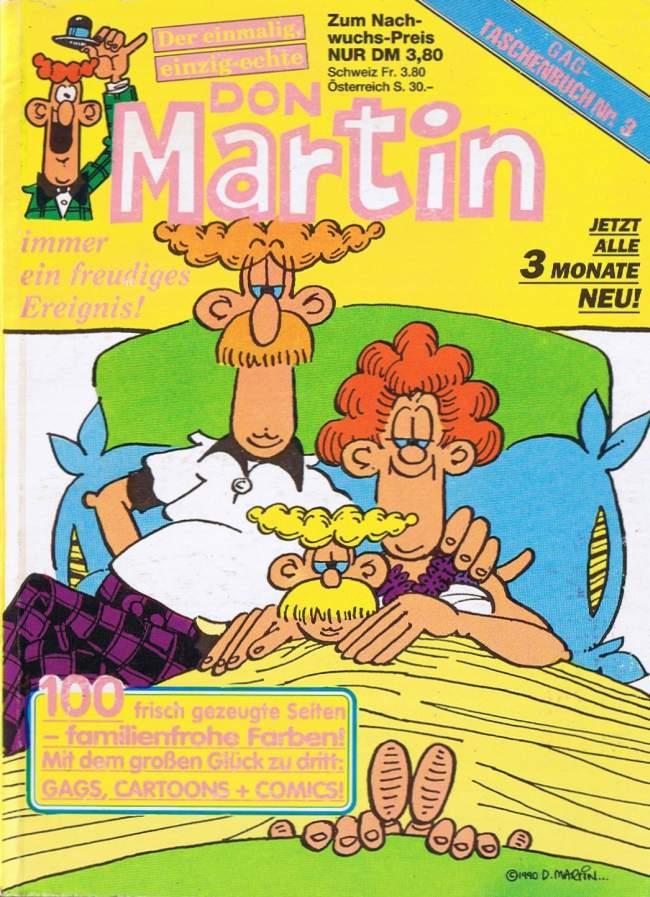 Don Martin Gag Taschenbuch #3 • Germany
