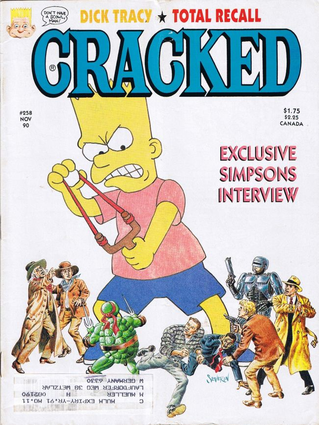 Cracked #258 • USA