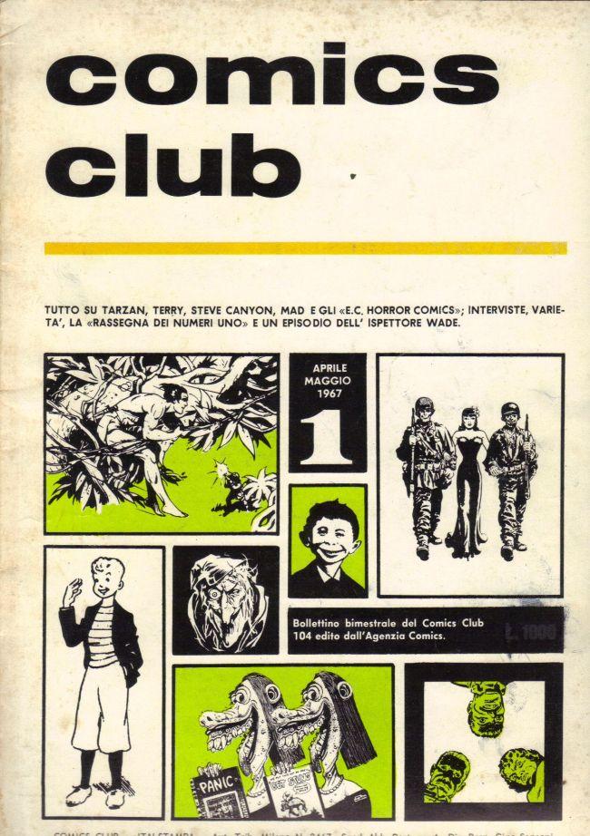 comics club #1 • Italy