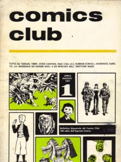 Go to comics club #1 • Italy