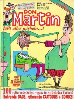 Go to Don Martin Gag Taschenbuch #1 • Germany