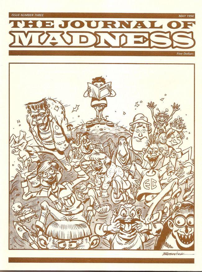 Journal of Madness #3 • USA