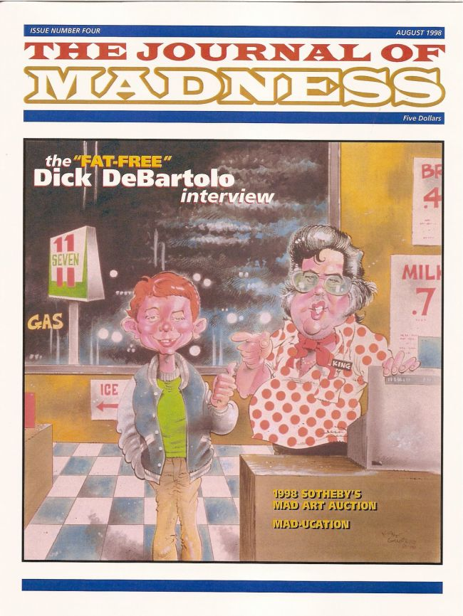 Journal of Madness #4 • USA