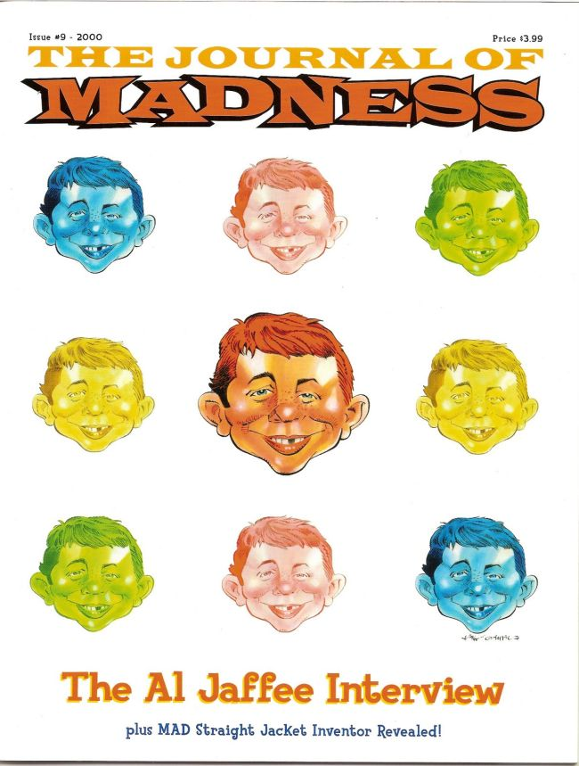 Journal of Madness #9 • USA