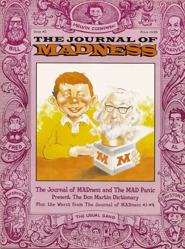 Journal of Madness #12 • USA