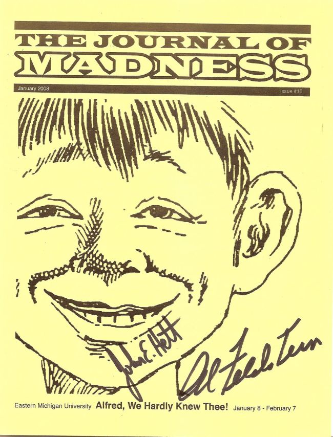 Journal of Madness #16 • USA
