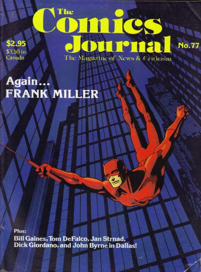 The Comics Journal #77 • USA