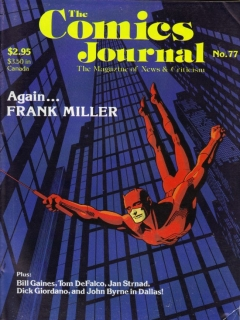 The Comics Journal #77 • USA