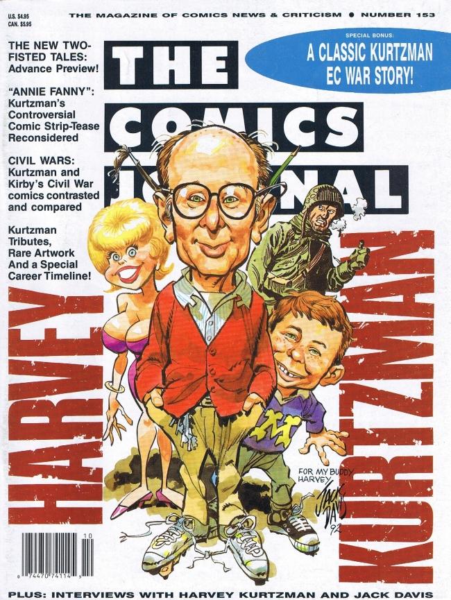 The Comics Journal #153 • USA