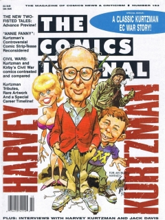 Go to The Comics Journal #153