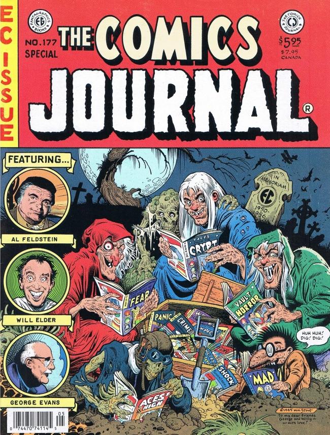 The Comics Journal #177 • USA